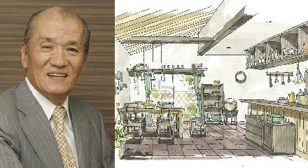 宮後浩氏手描きパースの第一人者/コラムデザインセンター代表取締役